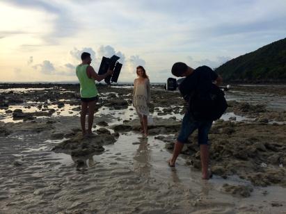 Afrodite and paparazzi / Phi Phi, Thailan