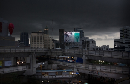 5 minutes before hard rain / Bangkok