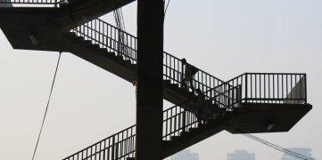 Bangkok stairs