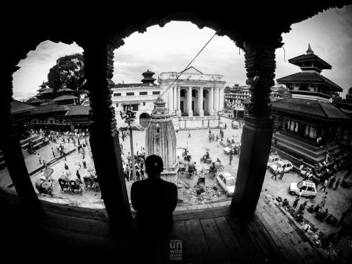 Top of the Durbar / Kathmandu